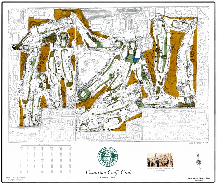Evanston Golf Club Colored Master Plan 2016 (Revised)