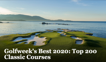 Golfweek's Best 2020 Top 200 Classic Courses
