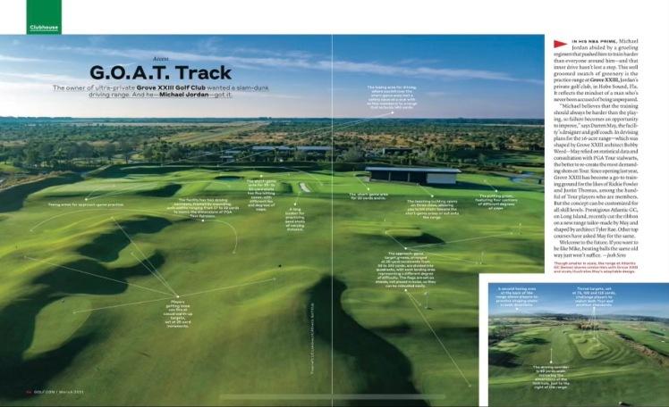 Golf.com Magazine Article AGC