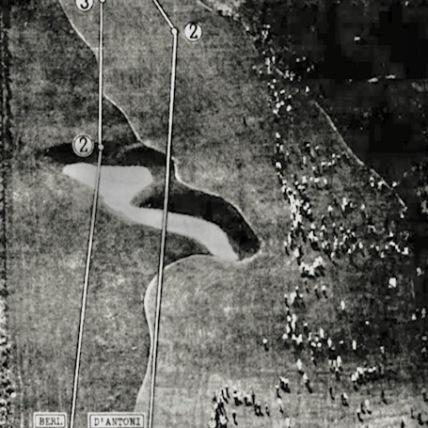 Wakonda Club 1939 Aerial NCAA Hole 7